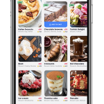Food app UI example image - 2