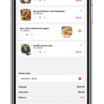 Food app UI example image - 5