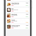 Food app UI example image - 7